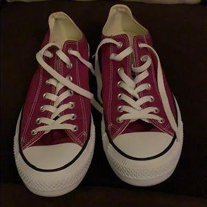 Converse Purple Low Top Sneakers Women's 13